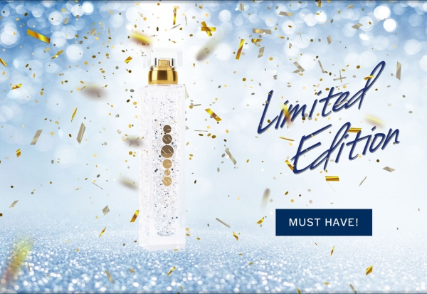 Glitter Perfumes, limited Edition!
